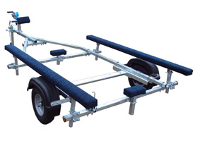 EXT300 300kg Bunked Inflatable Trailer from Blendworth Trailer Centre, Portsmouth