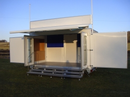 Exhibition trailers for sale and exhibition trailers for hire