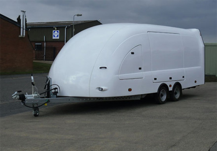 Enclosed trailers for vehicles, UK delivery, car shuttles for hire
