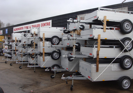 Brenderup trailers for hire, Ifor Williams trailers for hire