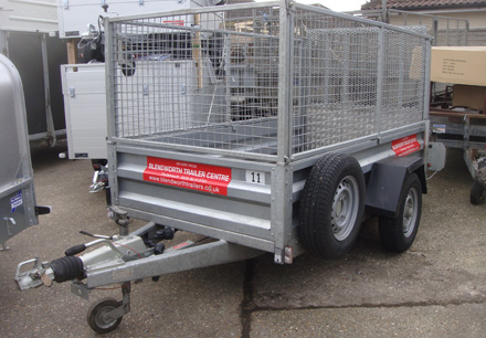 Used Brenderup trailers Hampshire