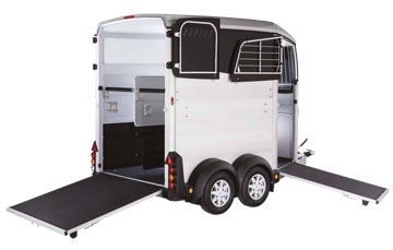 Ifor Williams HBX506 double horse trailer