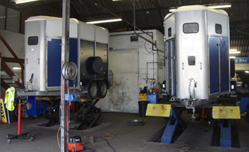 Trailer servicing Hampshire, horse trailer repairs Portsmouth Hampshire